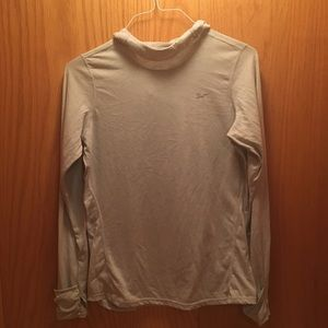 Nike Running Dri Fit Long Sleeve Top with hood